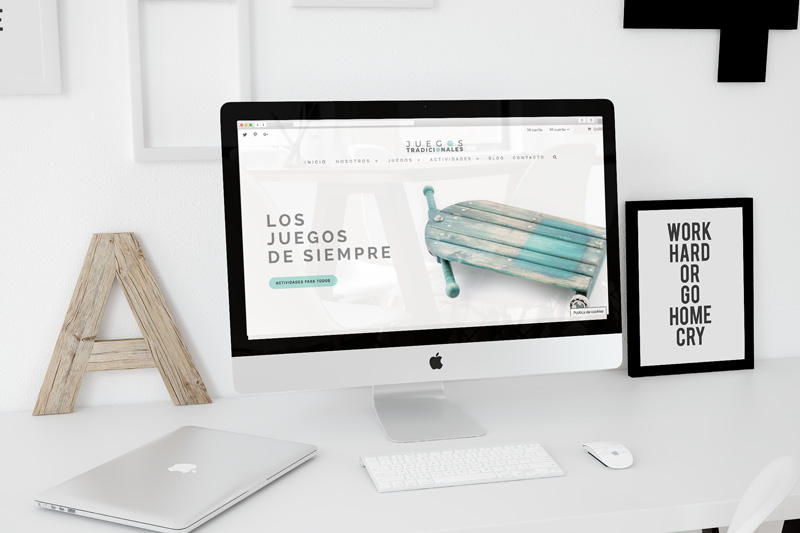 diseño web fotografia de producto Juegos Tradicionales, Unamina estudio