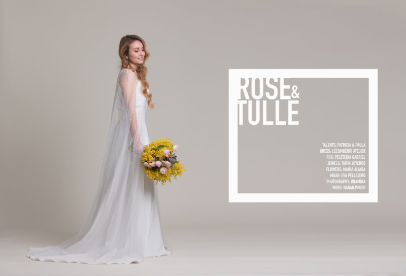 Editorial Novias: Rose & Tulle by UNAMINA